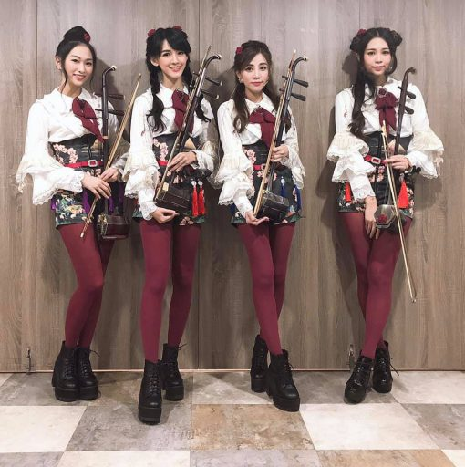 台湾のアイドルグループ「無双樂團」