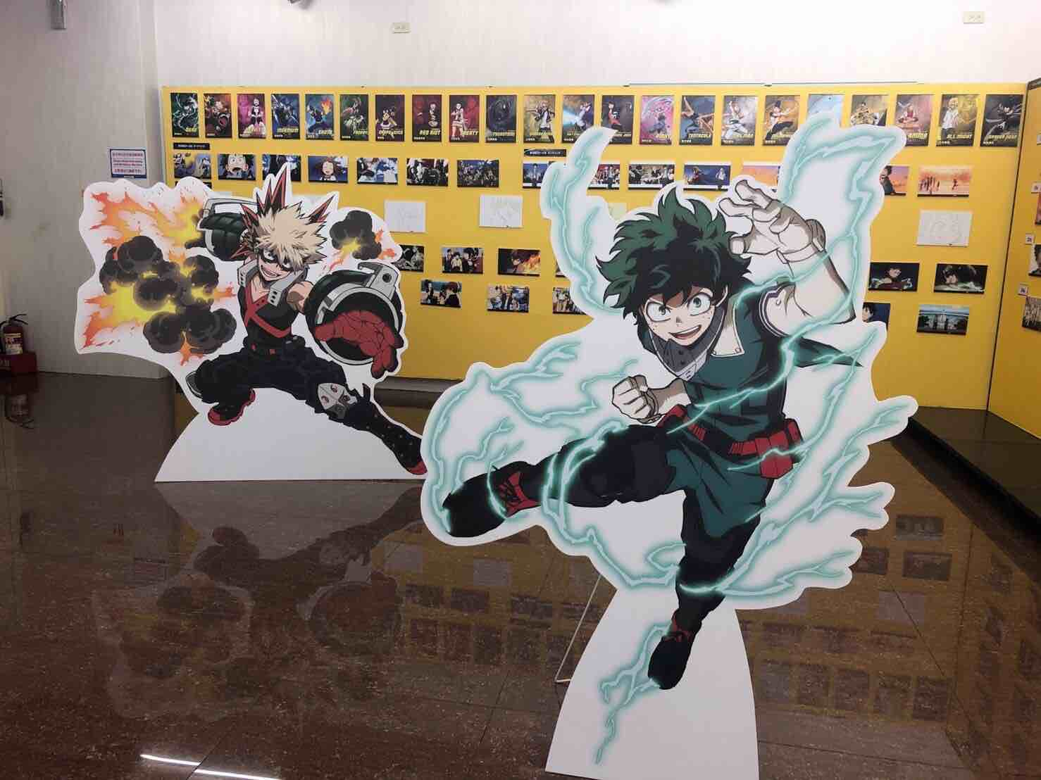 日本のアニメキャラクターが台湾のアニメイトにいた