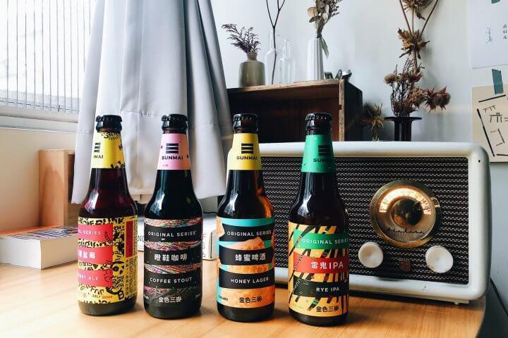 台湾クラフトビールの金色三麥