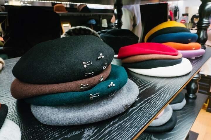 CA4LA、台北で2019-20AW新作発表会を開催 ベレー帽